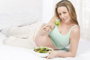 Правильное питание залог успешных родов