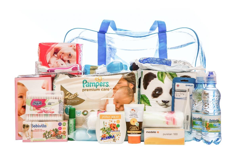 средства гигиены для малыша в роддом