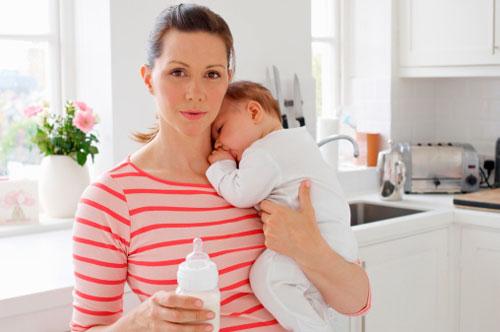Отсутствие молока в груди