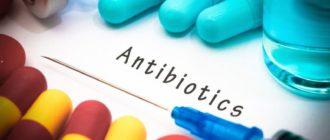Антибиотики при грудном вскармливании