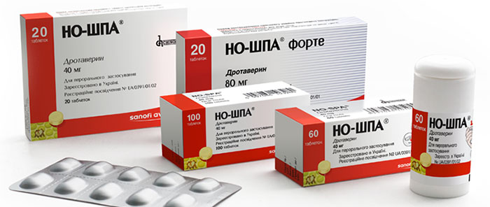 Препарат Ношпа