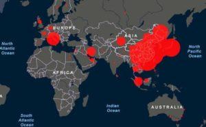 География распространения коронавируса